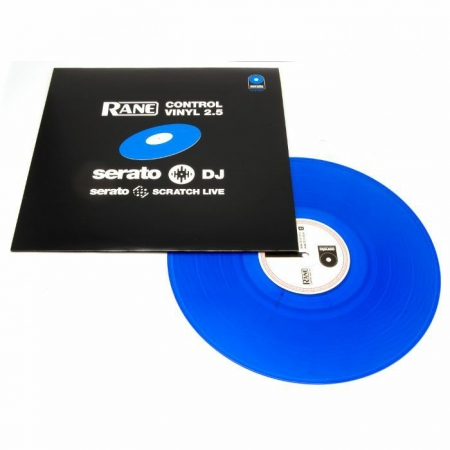 Rane Replacement Noise Map Control Vinyl For Serato Scratch Live ( 2 XLP ) Azul