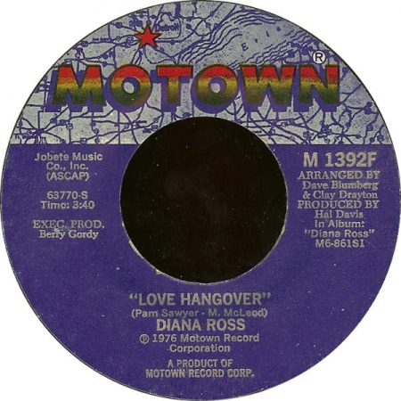 Diana Ross ‎– Love Hangover / Kiss Me Now