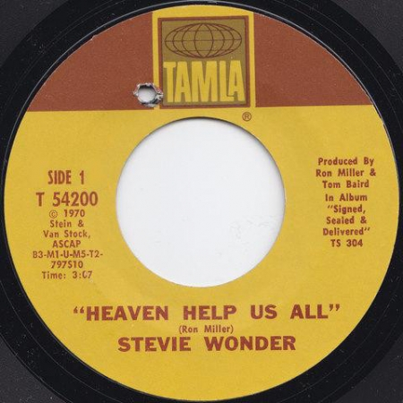 Stevie Wonder ‎– Heaven Help Us All