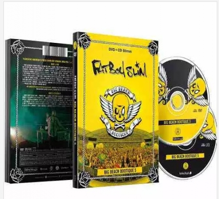 Fat Boy Slim Dvd + Cd Bônus