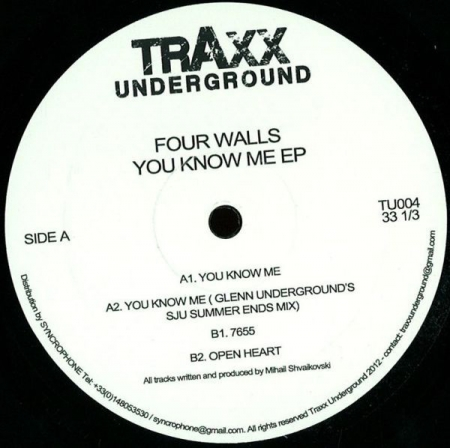 Four Walls ‎- You Know Me EP
