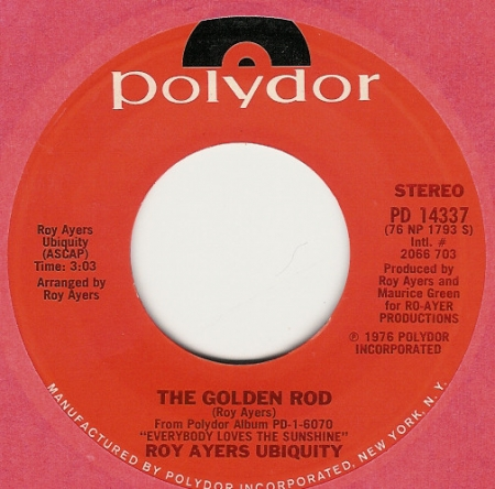Roy Ayers Ubiquity ‎- The Golden Rod / Tongue Power
