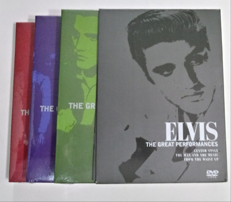 Elvis Presley - The Great Perfomances (Box 3 DVDs)