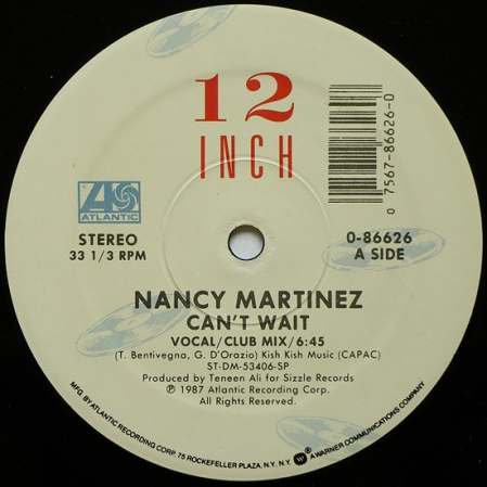 Nancy Martinez  Can't Wait