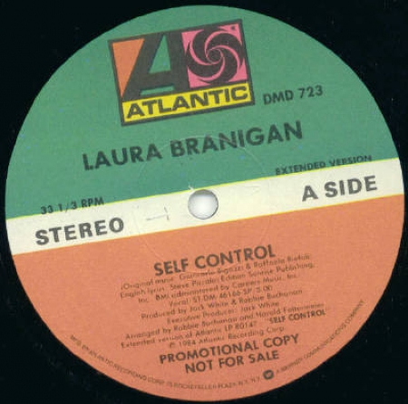 Laura Branigan ‎– Self Control