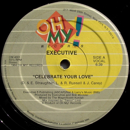 Executive - Celebrate Your Love