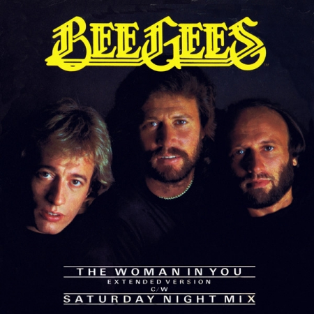 Bee Gees ‎- The Woman In You (Extended Version) / Saturday Night Mix