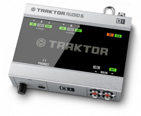 Placa De Audio Native Audio 6 Traktor (USADO)