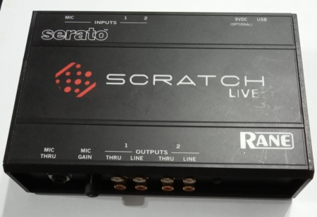 INTERFACE SERTAO SCRATCH LIVE (USADO)