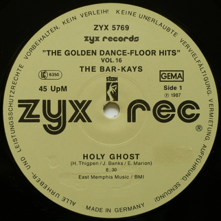 Bar-Kays / Sylvester - Holy Ghost / You Make Me Feel (Mighty Real)