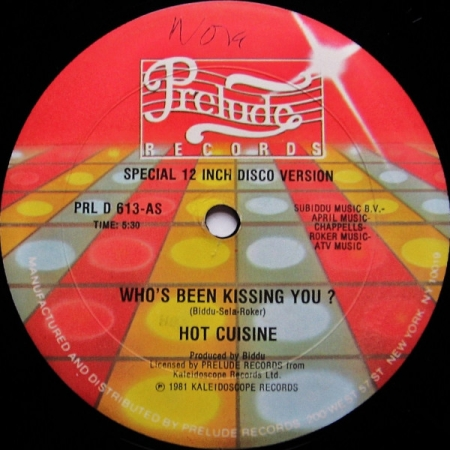 Hot Cuisine - Who's Been Kissing You