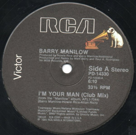 Barry Manilow - I'm Your Man