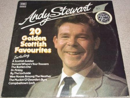 Andy Stewart ‎– 20 Golden Scottish Favourites
