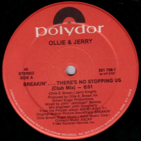 Ollie & Jerry - Breakin'... There's No Stopping Us