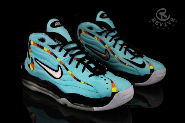 """NIKE AIR TOTAL MAX UPTEMPO """"SUGARHILL"""" BY REVIVE CUSTOMS"""